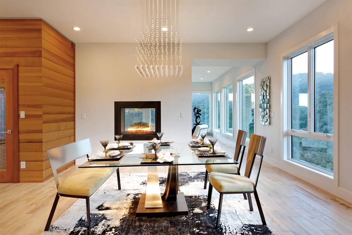 Muhteşem yemek odası modeli