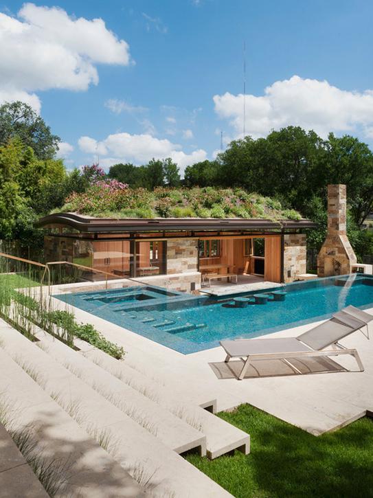 Süper havuzlu ev