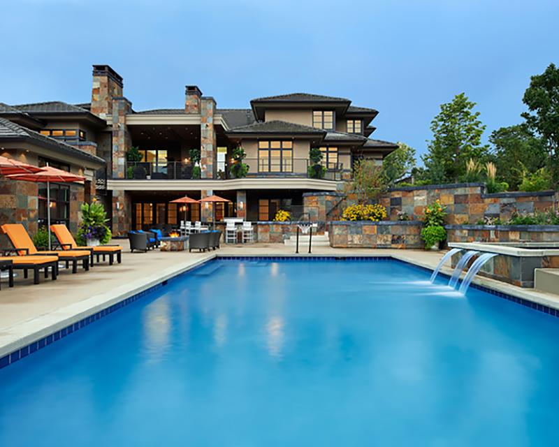 Süper lüks havuzlu ev