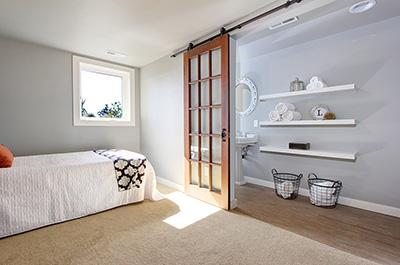 Süper yatak odası kapısı