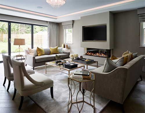 Sıcacık oturma odası modeli