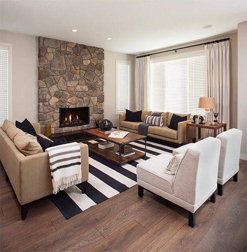 Sıcak oturma odası modeli