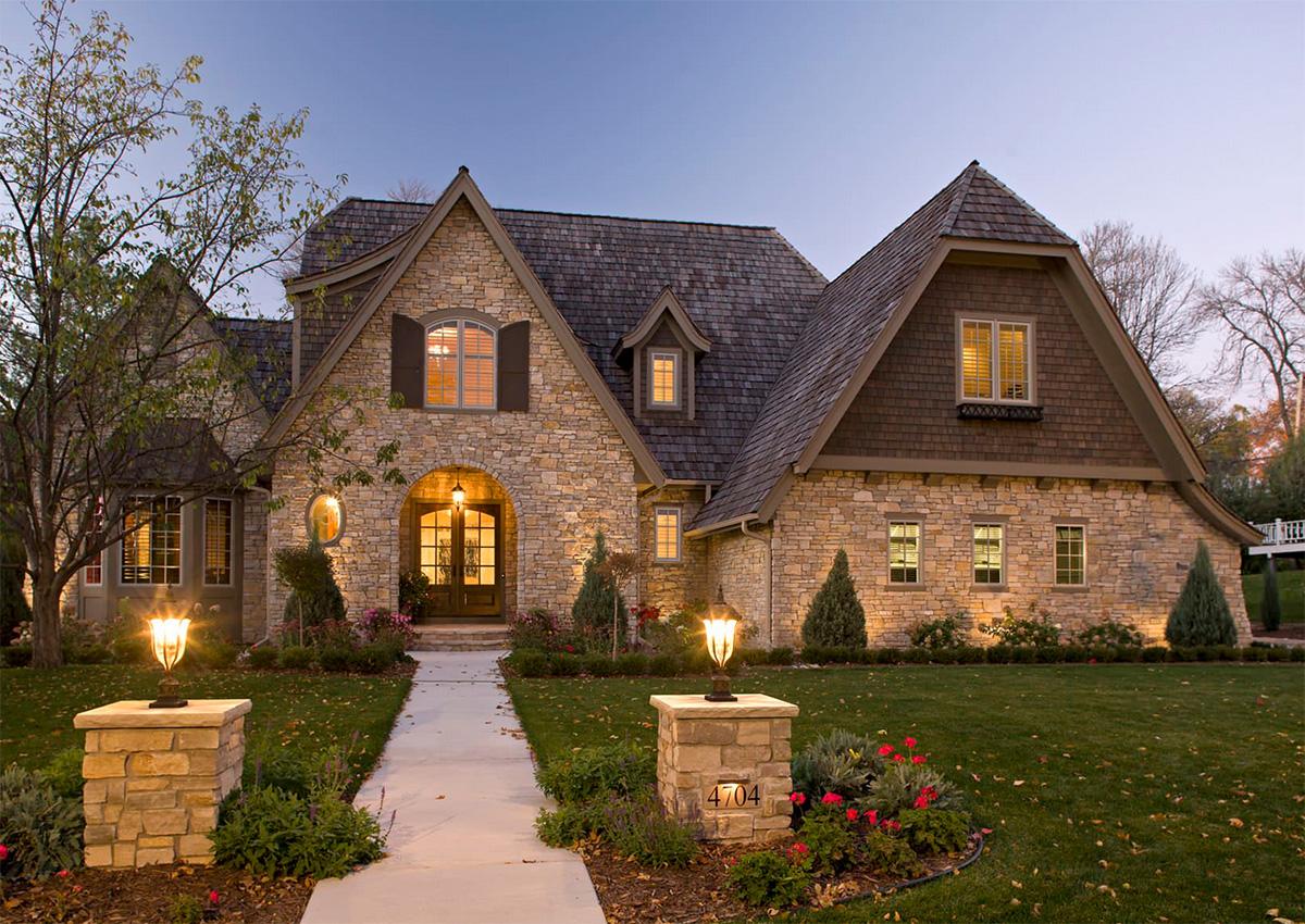 Taş ev tasarımı