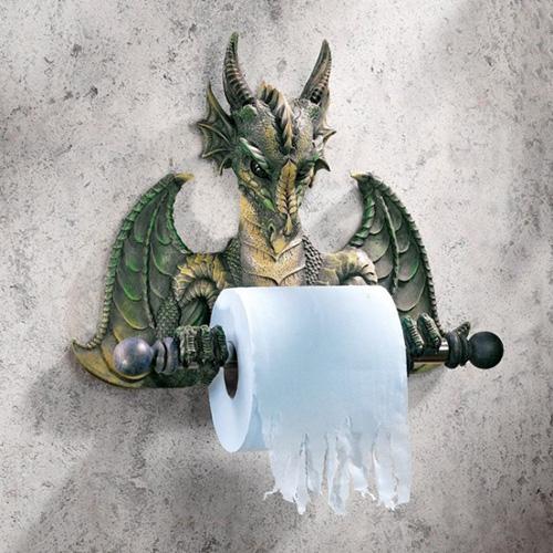 Ejderha kağıt tutacağı