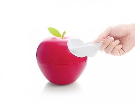 Elma kağıt tutacağı