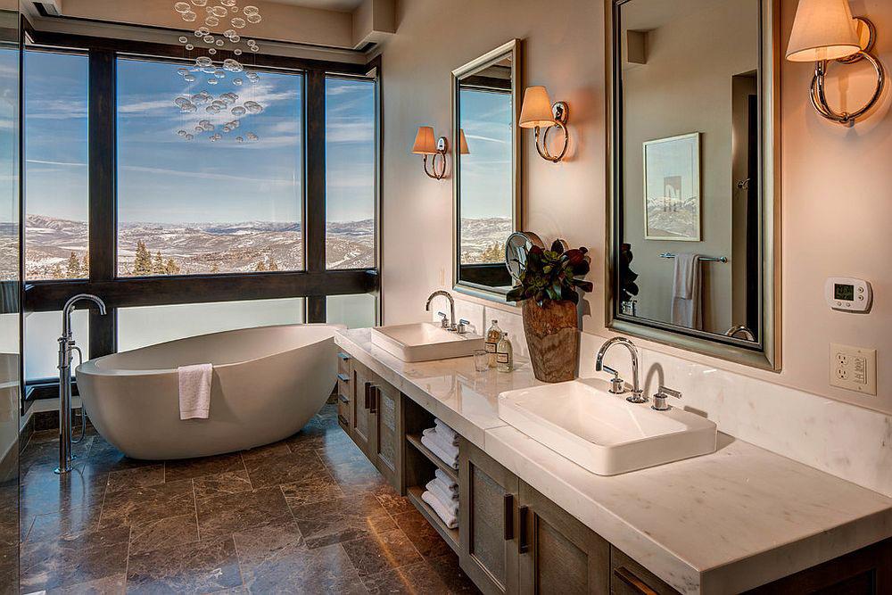 Modern banyo modeli