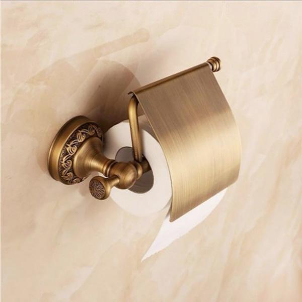 Rustik kağıt tutucu