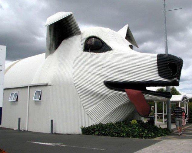Köpek görünümlü ev