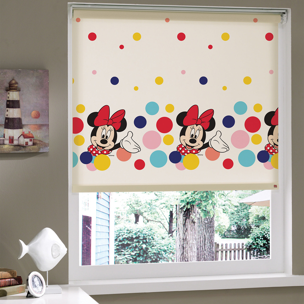 Disney çıkarmalı süper çocuk odası perdeleri..