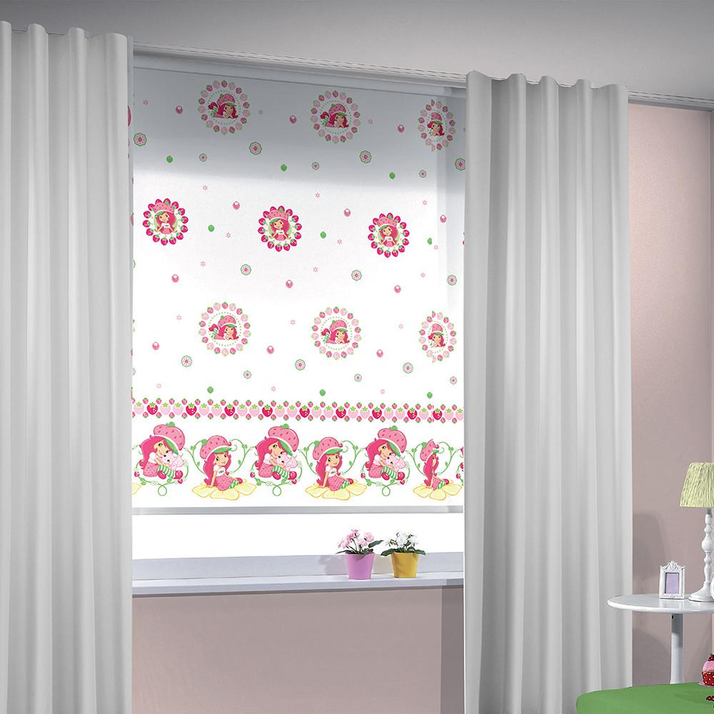 Taç perde çocuk odası tasarımlarına iyi bir örnek, özellikle kız çocuklarına..