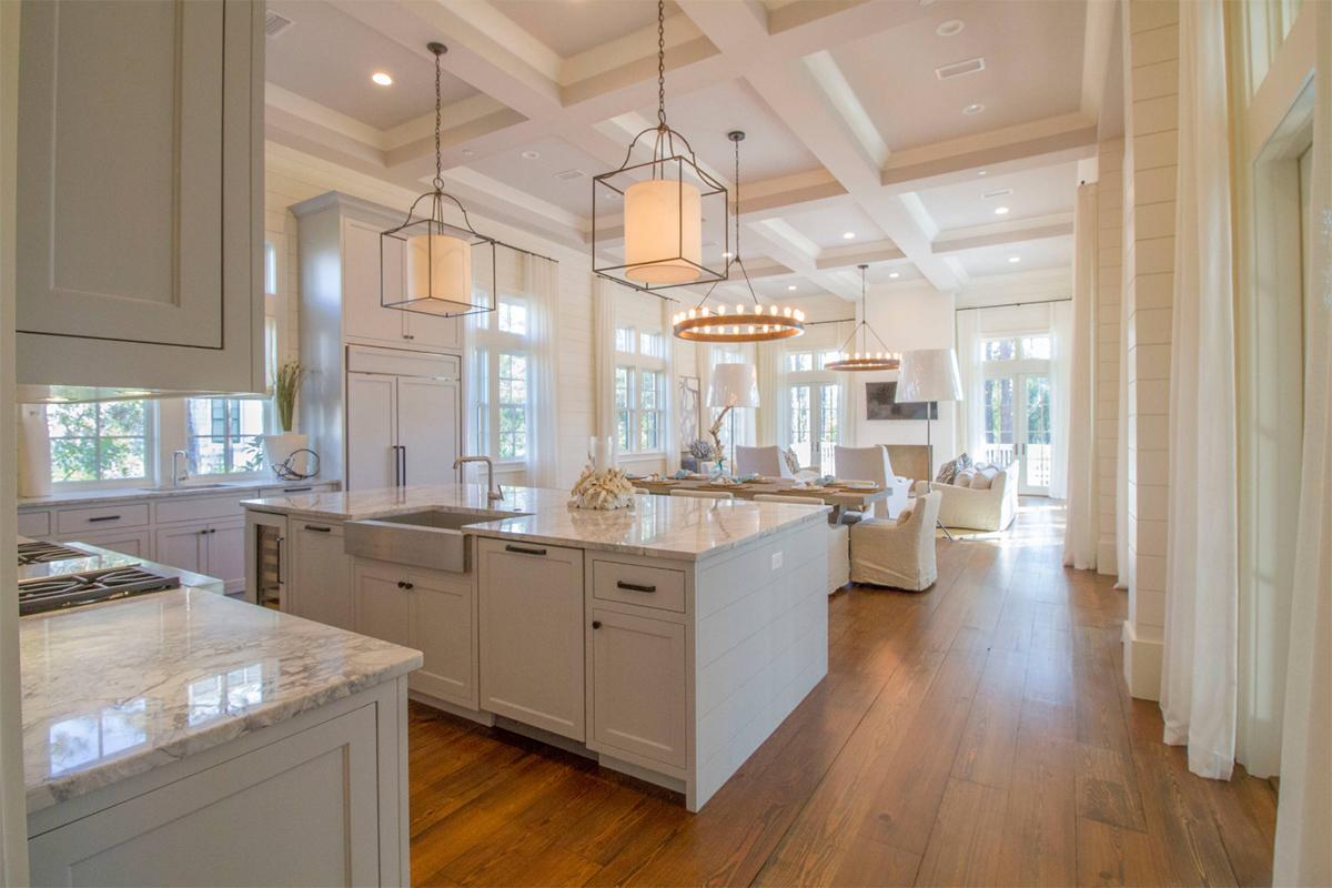 Yüksek kalite klasik mutfak tezgahı