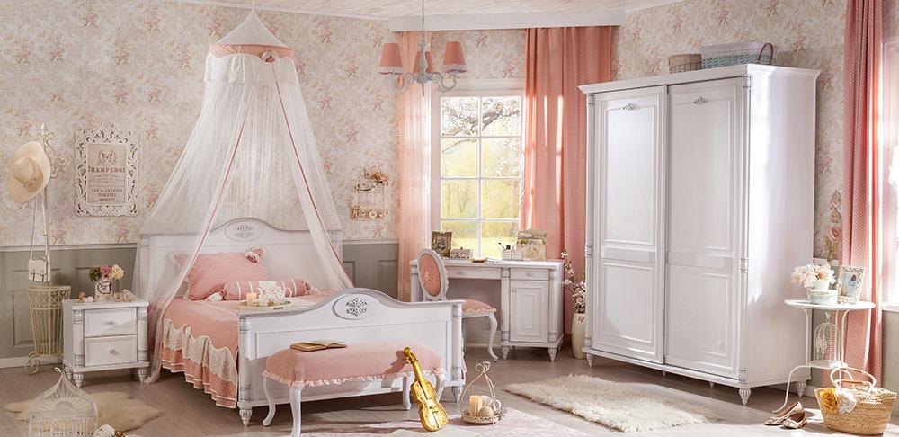 Romantik Süper Genç Bayan Odaları