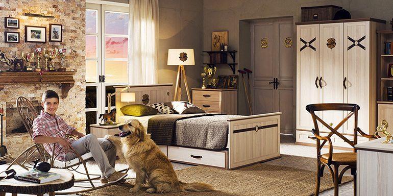 Çilek genç erkek odası modelleri; Royal Tasarımı..