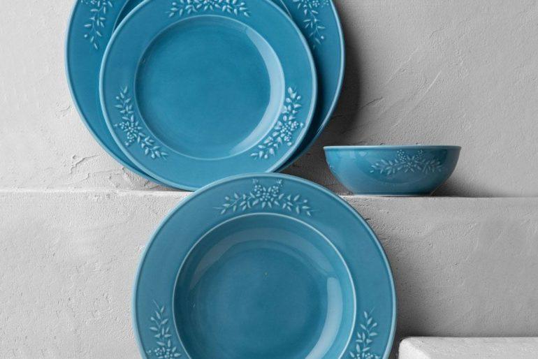 Rustica Mavi Yemek Takımı
