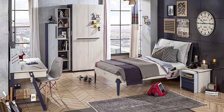Çilek harika genç odası modelleri..