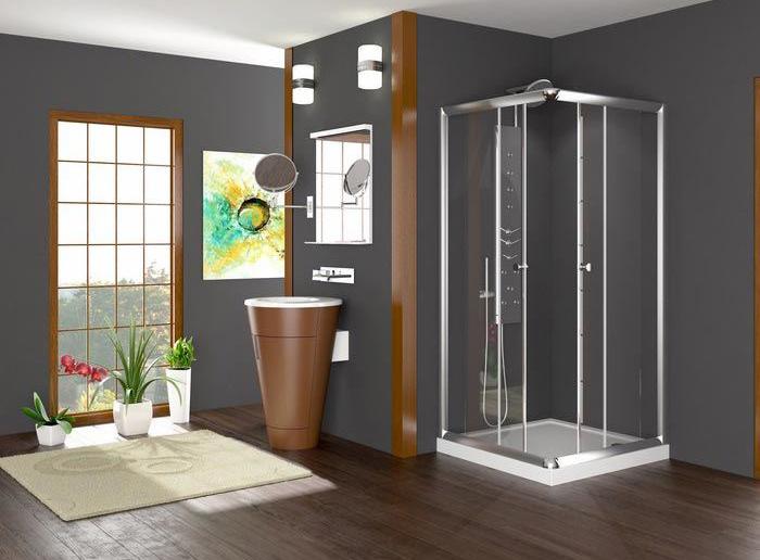 2017 yılının modern duşakabin örnekleri..