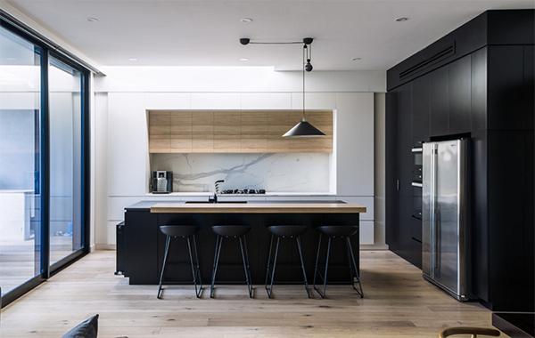 Siyah Modern Mutfak Tasarımları