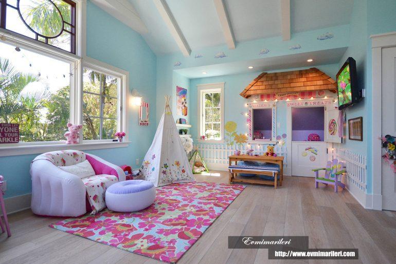 Çocuk odaları için tasarım fikirleri