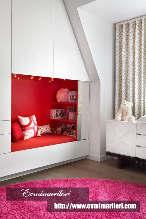 Özel bölmeli çocuk odası