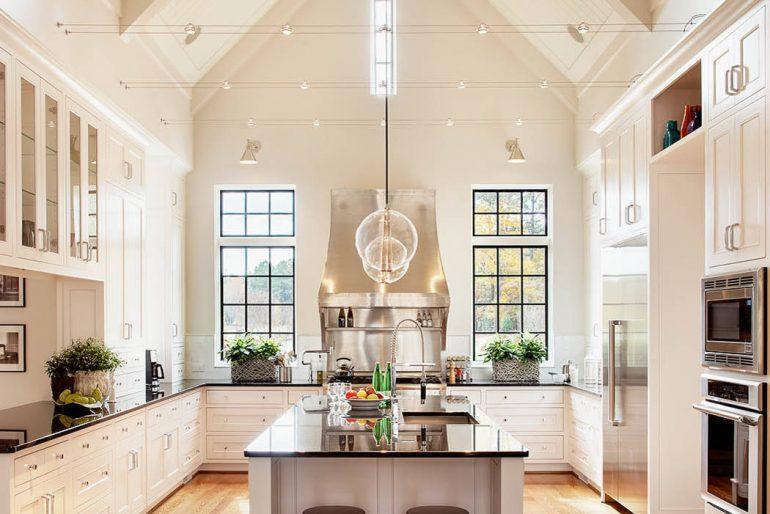 Yüksek tavanlı mutfak modelleri