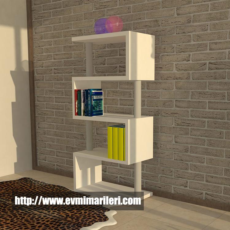 Dekoratif Kitaplık Modeli