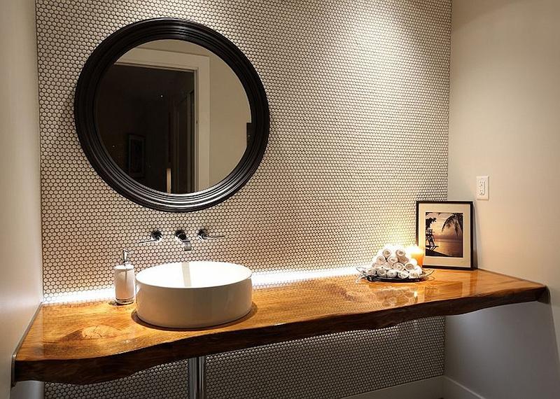 Çağdaş rustik lavabo