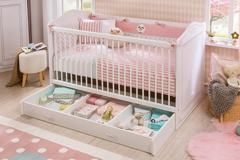 Çilek Selena Baby 2018 Bebek Karyolası