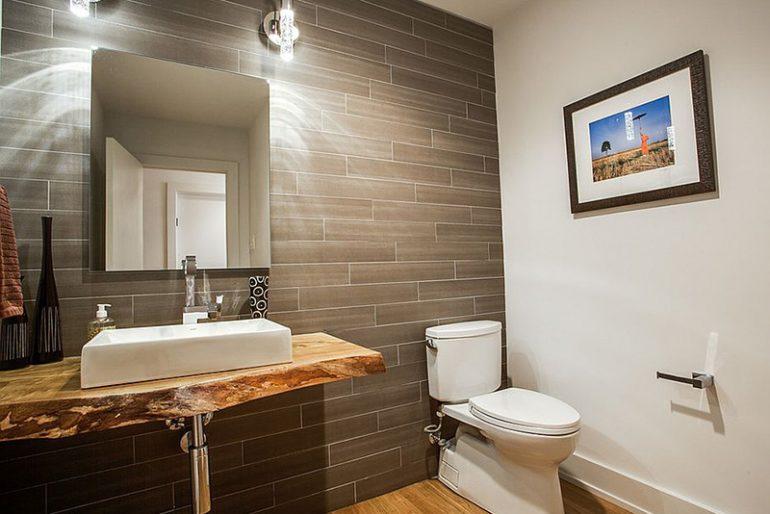 Farklı rustik lavabo