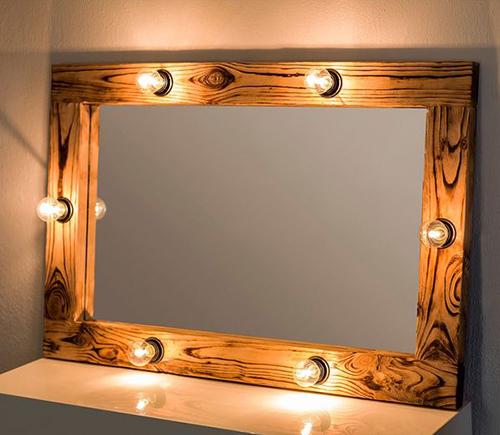 Dekoratif Aydınlatmalı Makyaj Aynası