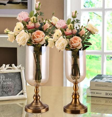 Paslanmaz şık vazo