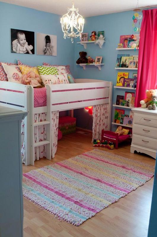 Şirin Kız Çocuğu Odası