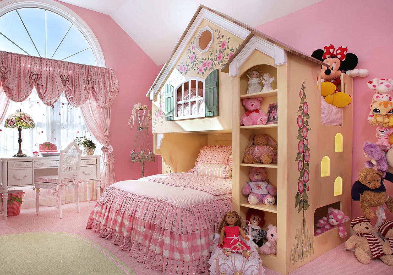 Masalsı Kız Çocuğu Odası