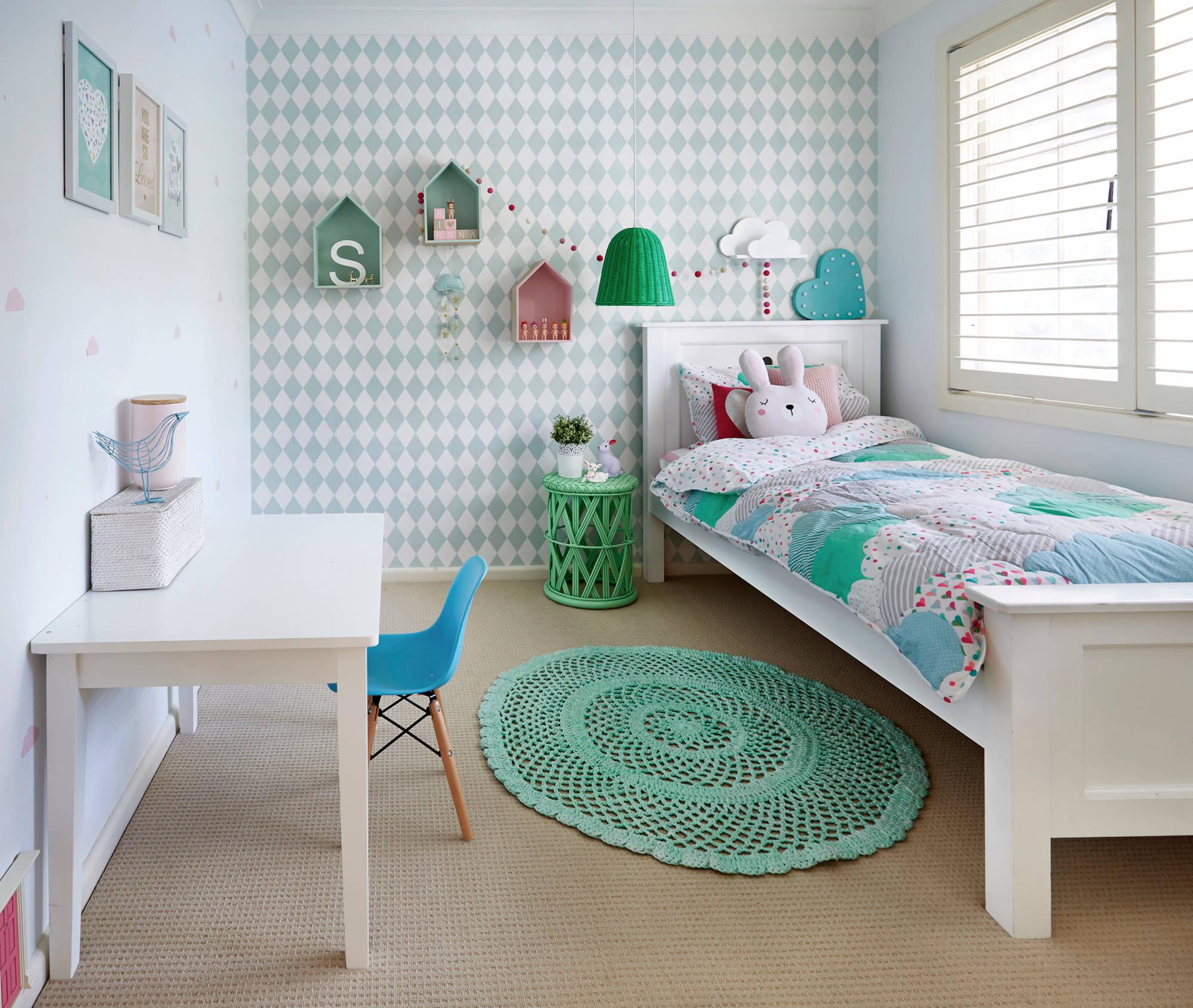 Modern Kız Çocuğu Odası Tasarımı