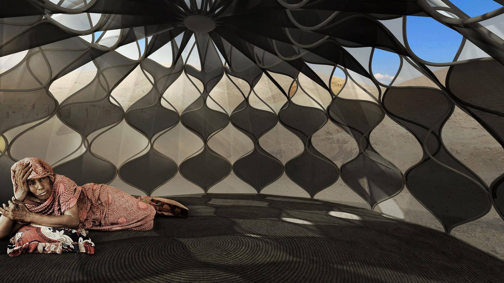 İklim Dostu Çadır Mimarisi