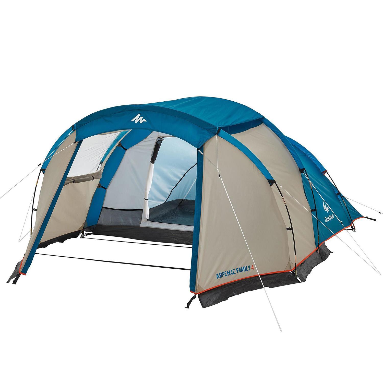 4 kişilik çadır - 1 odalı