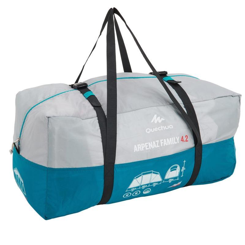 4 kişilik çadır - 2 odalı çantası