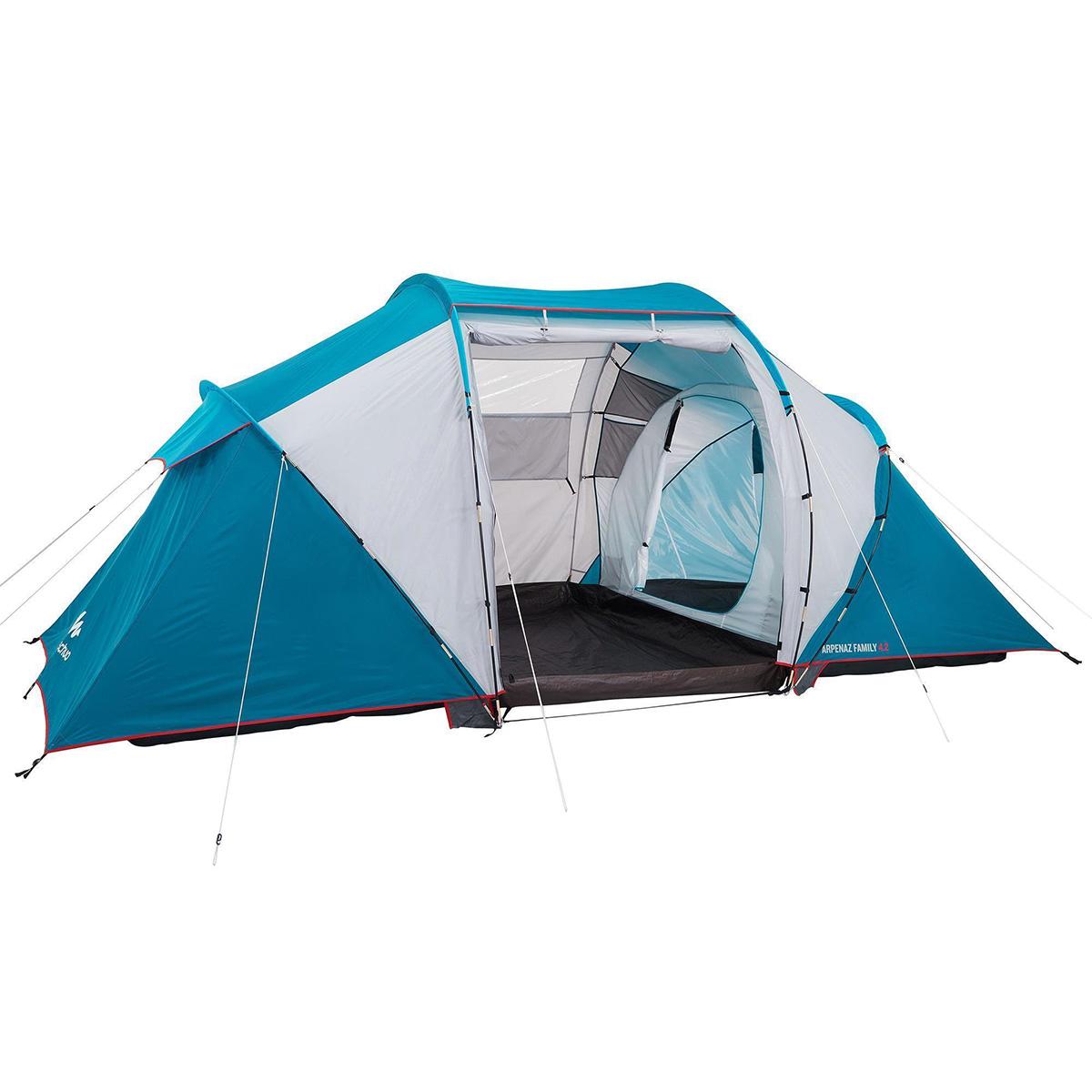 4 kişilik çadır - 2 odalı