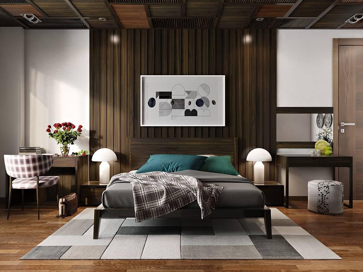 Eskitme Yatak Odası Dekorasyonu