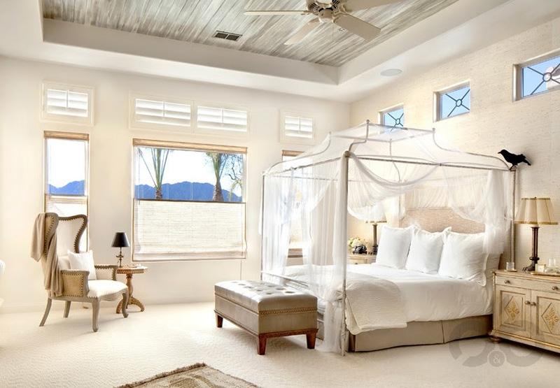 Güzel Cibinlikli Yataklar