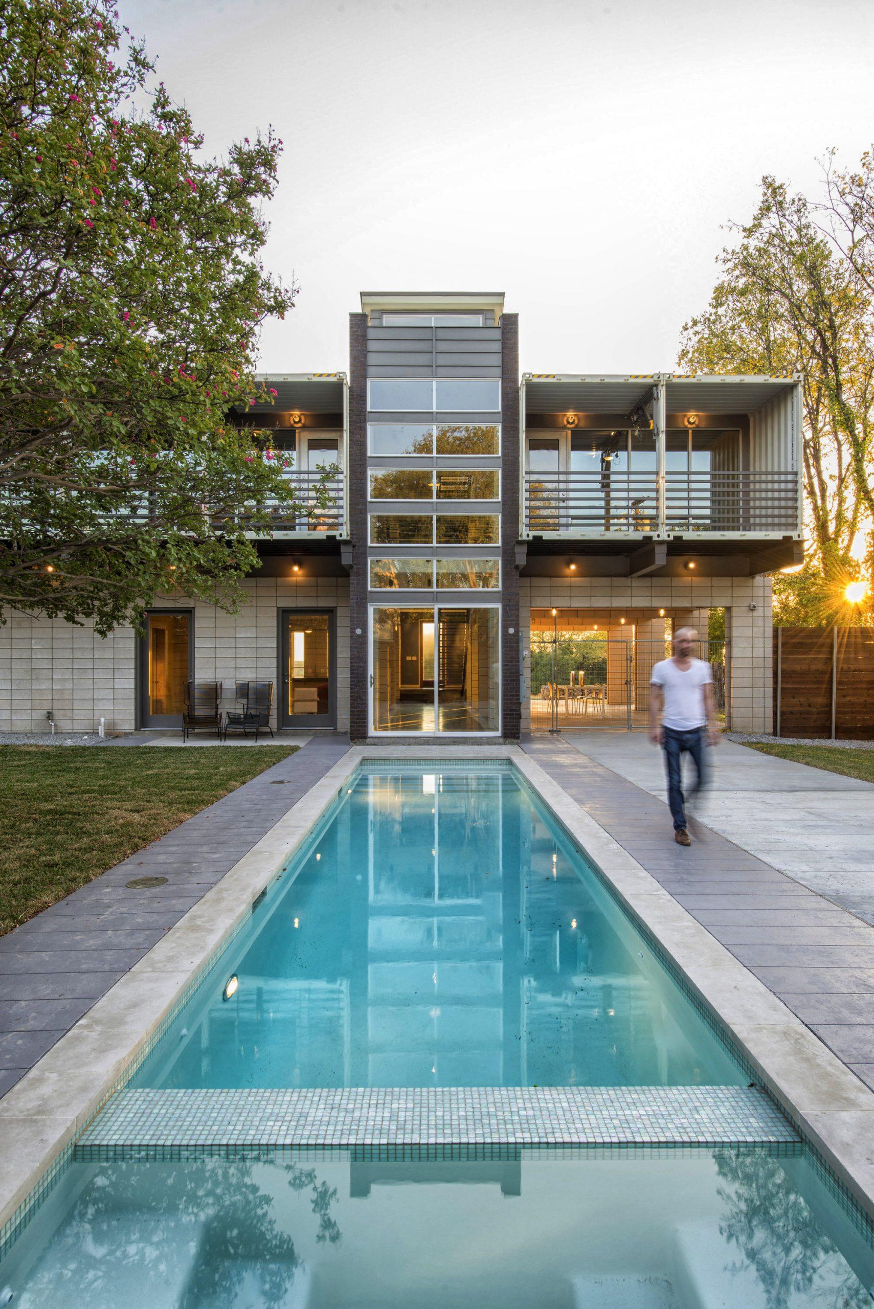 Muhteşem Konteyner Ev Tasarımları