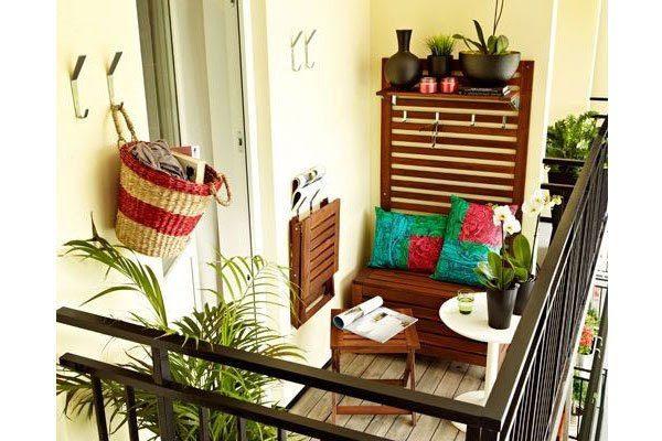 Balkon Dinlenme Köşeleri