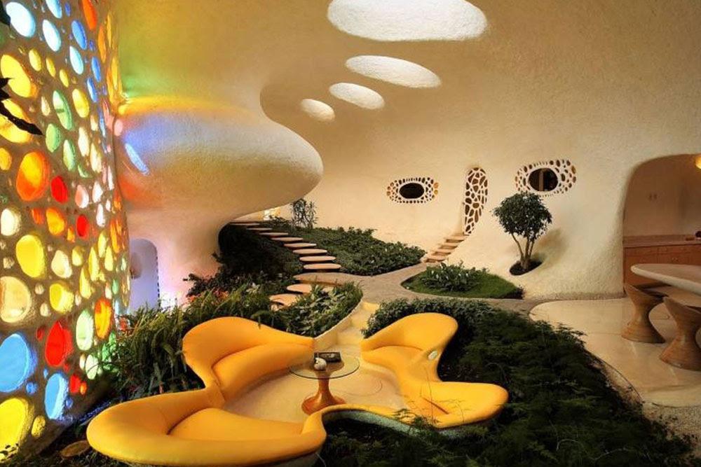 Deniz Kabuğu Şeklindeki Ev