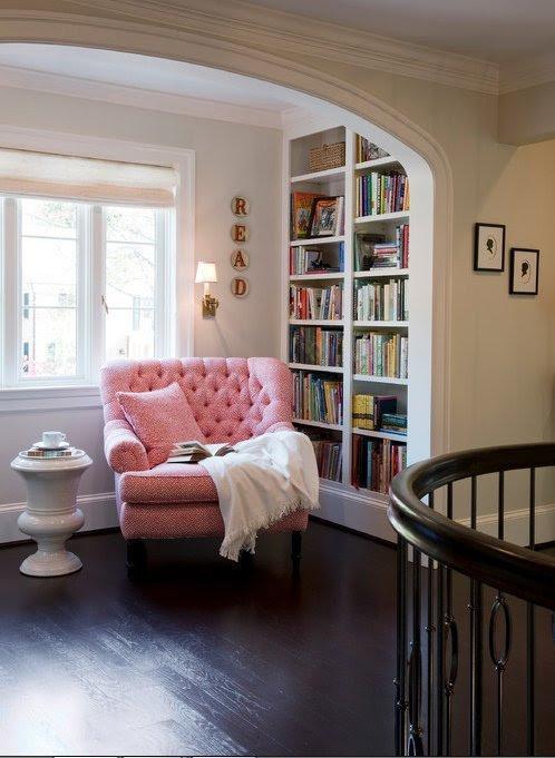Kitap Okumak İçin Dinlenme Köşesi