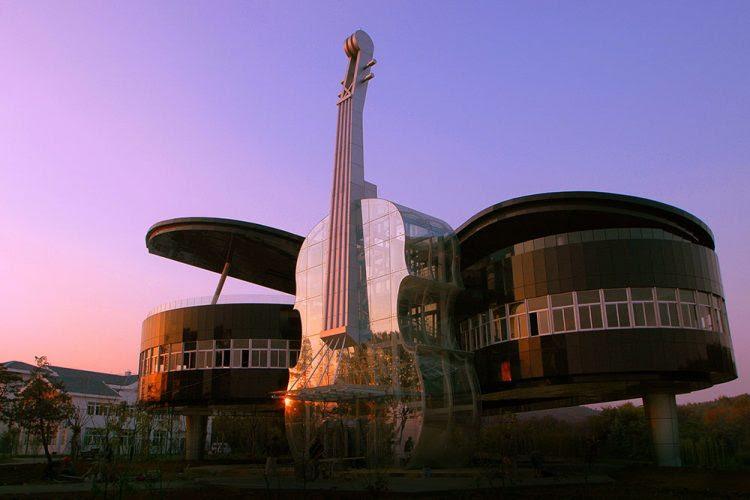 Sıra Dışı ve İlginç 10 Mimari Tasarım - The Piano House
