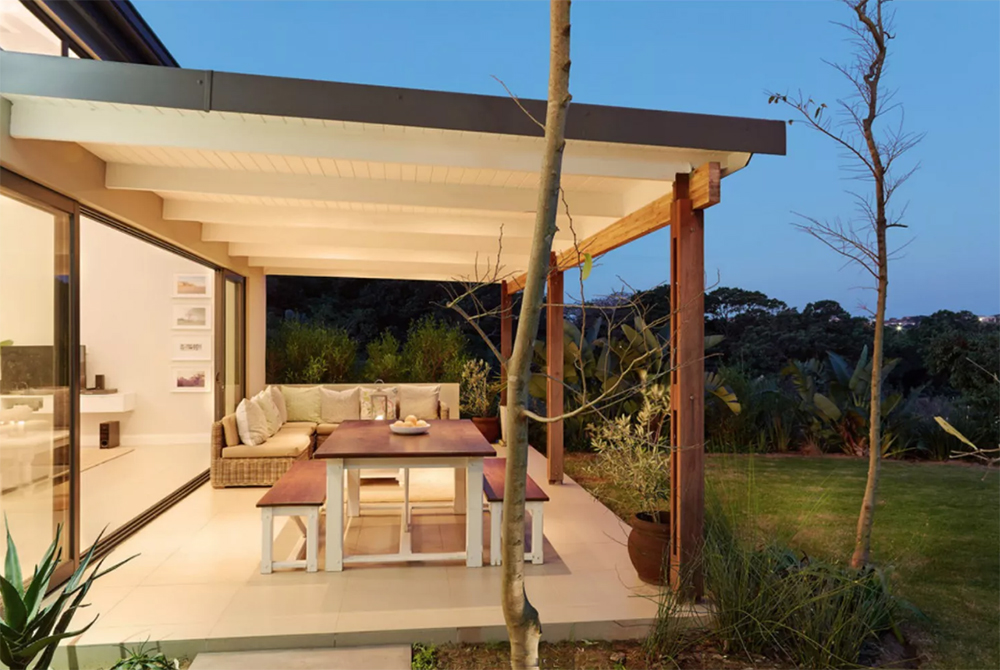 Afrika tarzı kapalı bir veranda oluşturmak. 10 Şık Kapalı Veranda Fikri