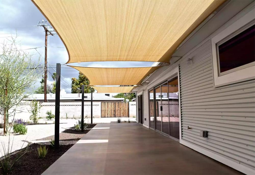 Kumaş veranda çatısı olur mu