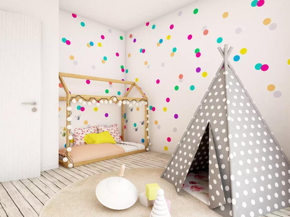 Mutlu bir çocuk odası oluşturun