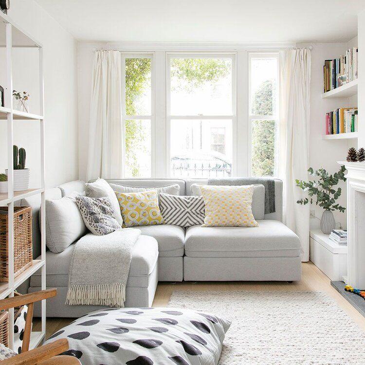 Ufak Oturma Odaları İçin Dekorasyon Fikirleri