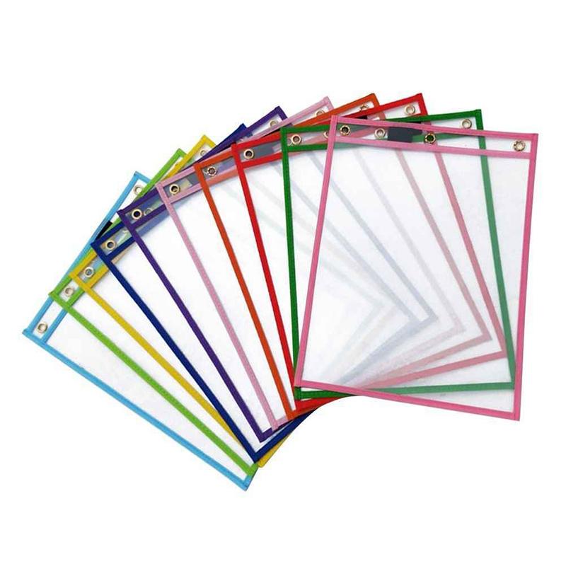Bu kuru silinebilir kılıflar, çocuklarınızın harfleri, sayıları ve daha fazlasını uygularken harcadıkları kağıt miktarını azaltmaya yardımcı olur.