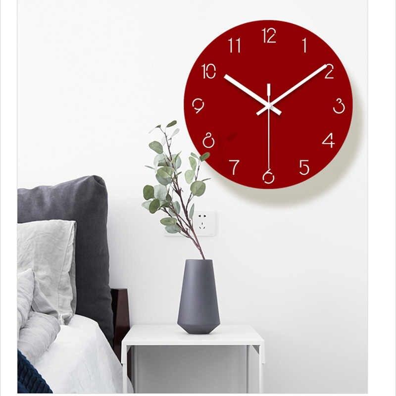 Kırmızı Duvar Saati. Yaşam Alanınız İçin Doğru Duvar Saati Seçimi